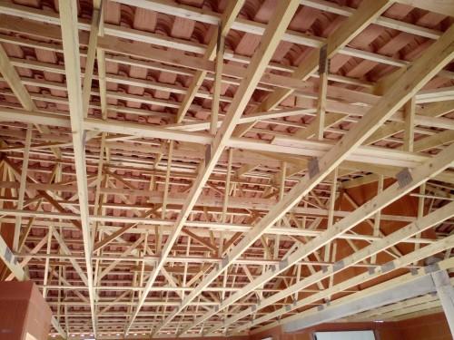 Pose de la charpente couverture pour notre chantier à FLORENSAC