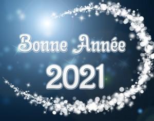 Bonne année 2021 !!!