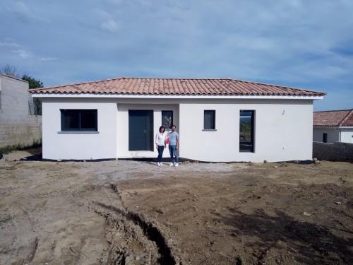 Réception pour  notre chantier à côté de Gignac